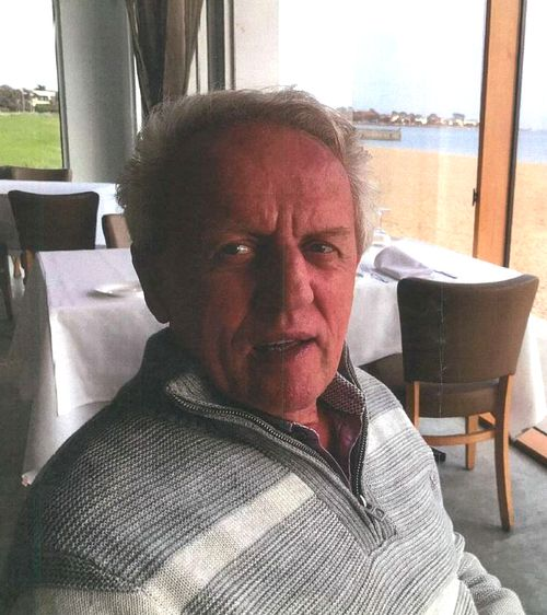 Missing man Conrad Whitlock is about 170cm tall with a slim build and grey hair.