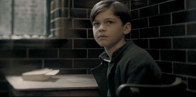 Hero Fiennes-Tiffin as young Tom Riddle in Harry Potter and the Half-Blood Prince.