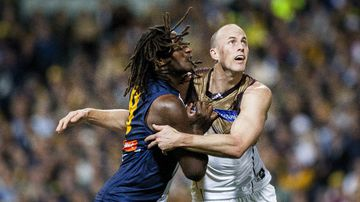 Nic Naitanui and David Hale will play a key role for their teams today. (AAP)