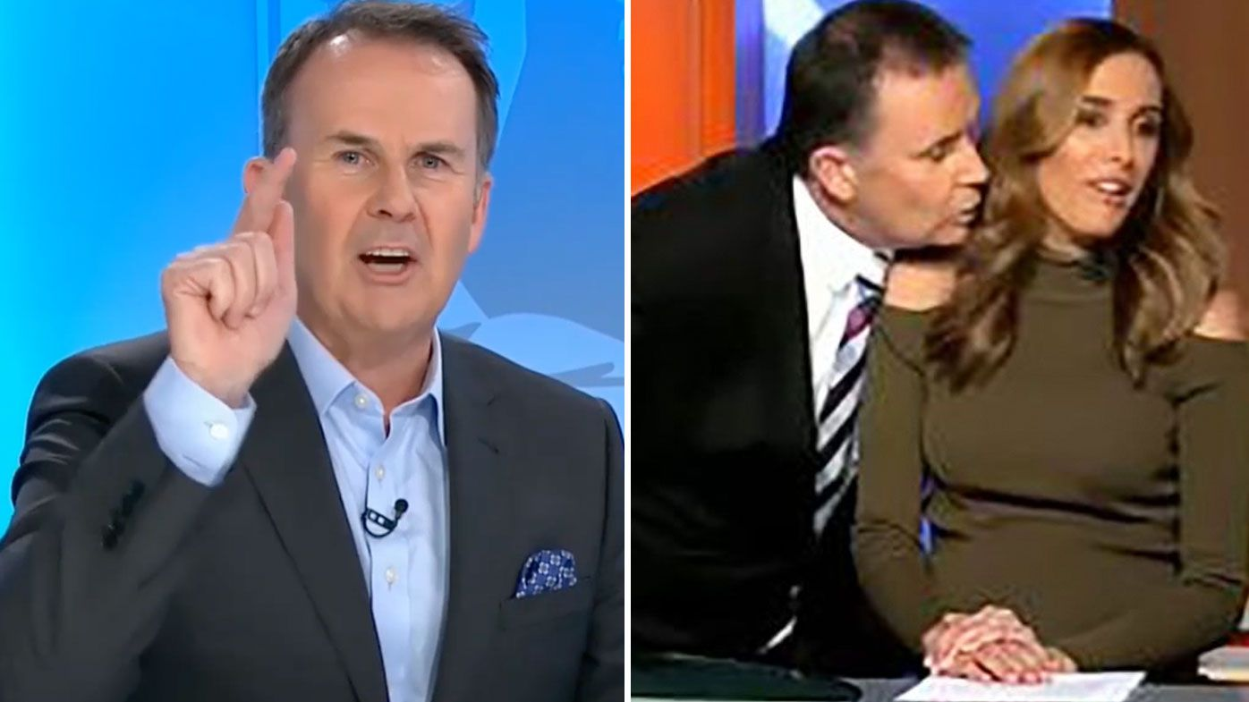 Tony Jones threatens to walk off set if infamous failed Rebecca Judd clip is played again