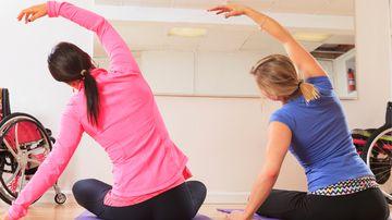 Women perform yoga. (AFP file image)