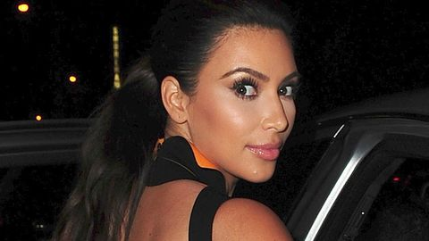 Kim Kardashian: The only place I won't let the cameras is ... the toilet