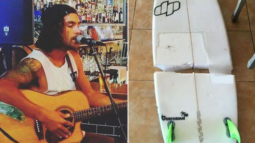 Lines' death follows that of Wollongong musician Jae Haydon, who was found washed up on a beach in Bali on Monday night. Picture: Facebook/Supplied.
