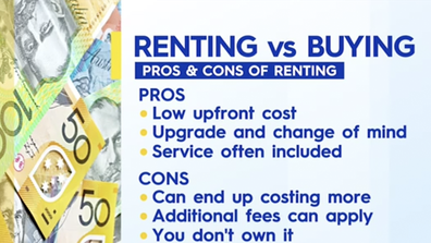To rent or to buy - that is the question.