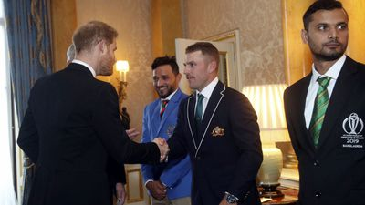 Prince Harry meets with ICC Cricket World Cup team captains, May 2019