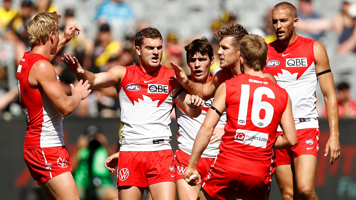 Sydney continues fairytale start to 2021 season by battering 'lifeless' Richmond at the MCG