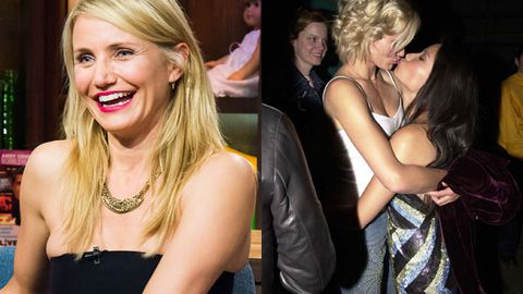 Watch: Cameron Diaz admits she's been with a woman