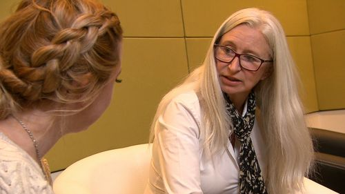 Mother-of-five Theresa Flavin has made it her mission to continue making memories with her family despite an early onset dementia diagnosis. Picture: 9NEWS.