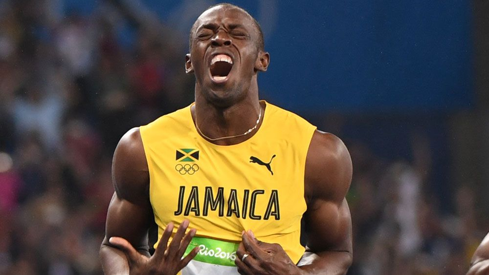 Triple Olympic champion Usain Bolt