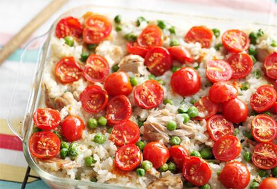 Wednesday: Oven-baked tuna risotto