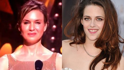Watch: Were Renee Zellweger and K-Stew drunk at the Oscars?