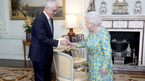 """Mr Turnbull said 'even republicans like myself can be, and in my case are, very strong Elizabethans."""" (AFP)"""