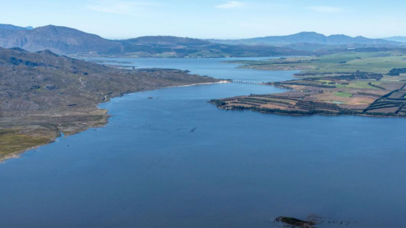 Theewaterskloof Dam went from a lake level of 11.0 percent on March 9, 2018, to 98.1 percent on September 22, 2020.