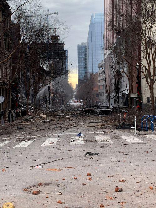 Buntut dari bom Nashville.