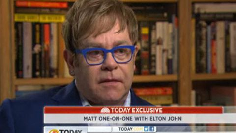 Video: Why did Elton John take so long to admit he's gay?