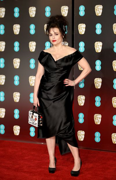 Helena Bonham Carter in Vivienne Westwood at the British Academy Film Awards (BAFTAs)