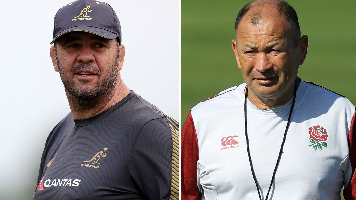 Michael Cheika and Eddie Jones were once teammates