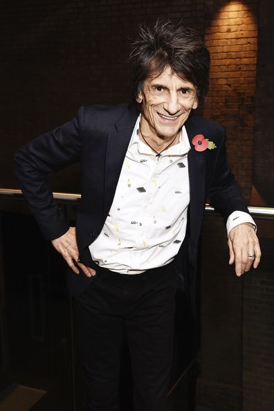 Ronnie Wood during The Stubhub Q Awards 2016 at The Roundhouse on November 2, 2016 in London, England.