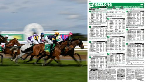 Mr Omerovic lost out on a quadrella win after the form guide had a typo. Picture: AAP/Herald Sun