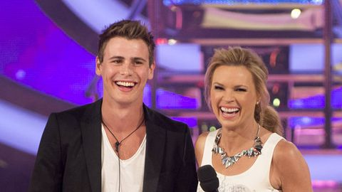 Big Brother love triangle: Evictee Ryan wishes Estelle's new kissing pal Bradley 'good luck'