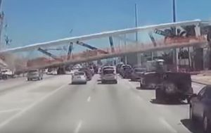 Dashcam video captures deadly Florida bridge collapse