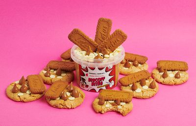 Chargrill Charlie's just launched a Biscoff cookie dough for all your lockdown munchies