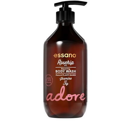 """<a href=""""http://essano.com.au/index.html"""" target=""""_blank"""">Essano Adore Rosehip Oil Body Wash, $9.99.</a><br> Dermatologically tested formula enriched with natural botanical ingredients of jasmine, fig and certified organic rosehip oil - yet still cheap as chips. We love."""