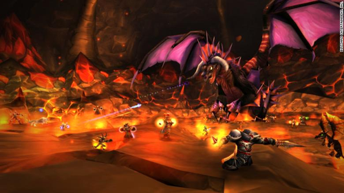 A scene from World of Warcraft Classic
