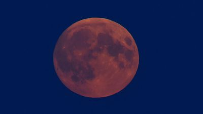 A supermoon occurs when a full moon is at its closest point of orbit to the Earth – making our lunar neighbour appear up to 14 percent larger than it really is. (AAP)