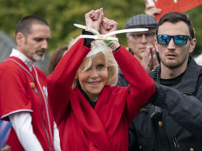 Jane Fonda arrested at 2019 climate rally.