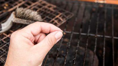 Wire grill brush bristle