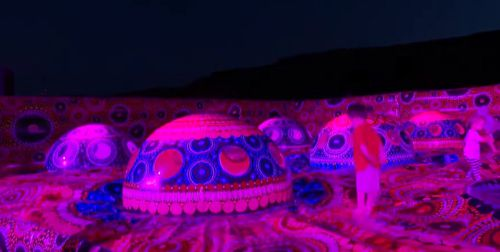 The Parrtjima festival is the biggest Indigenous light festival in the world.