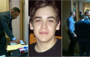 Police raid lawyer's office in Brayden Dillon murder investigation