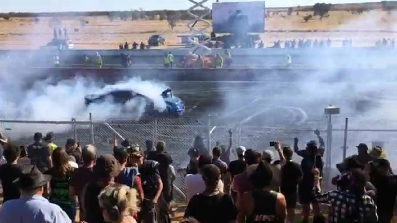 Spectators seriously injured at drag racing event