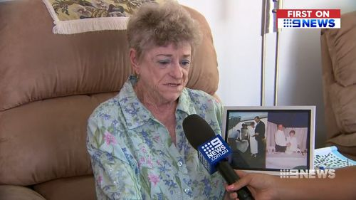 Widow Val Greening was among the victims of the heartless robbery.