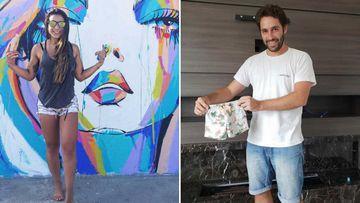 Fernanda Damian and Luiz Taliberti were expecting a child.