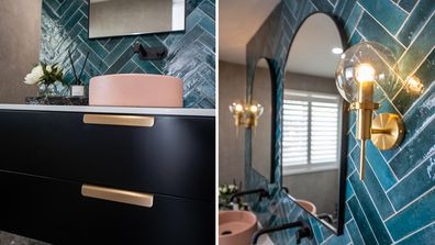 El'ise and Matt's renovation: A bold and eclectic master ensuite