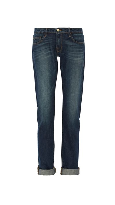 <p>Relaxed denim</p>