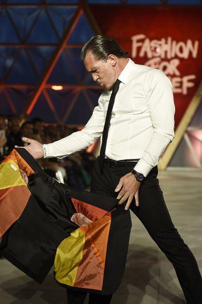 Antonio Banderasat Fashion Relief, Cannes
