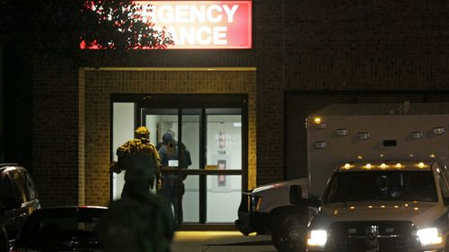 Armed man in custody after Texas hospital stand-off