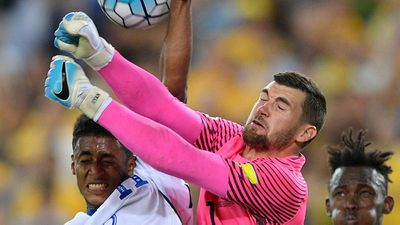 Mat Ryan: Not his busiest night but a confident contributor when coming off his line - 7
