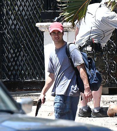 Darren Criss has already filmed the scene where he shoots <em>Versace</em>, played by Edgar Ramirez.