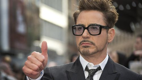 Iron Man actor Robert Downy Jr is first on the Forbes Hollywood Rich List. (AAP)