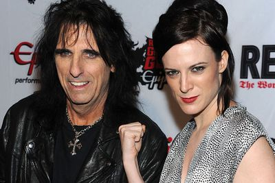 <b>Daughter of:</b> Shock rocker Alice Cooper.<br/><br/><b>Famous for:</b> Performing as part of the 'side show' of her dad's concerts - only to branch out into a career in horror flicks.