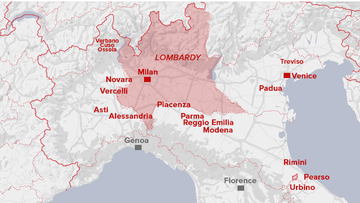 Italy has locked down millions of people to try to stop the spread of coronavirus.