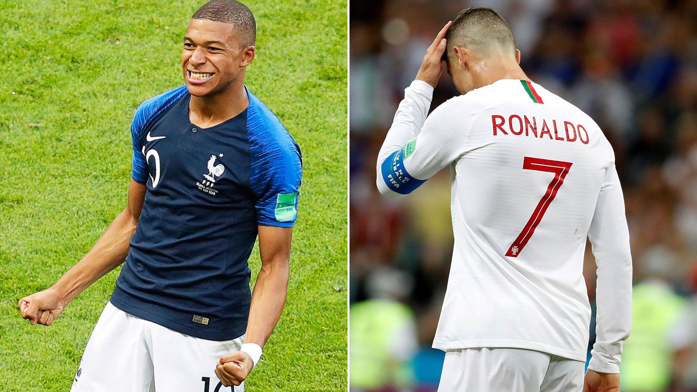 World Cup wrap: Mbappe's decisive double, frustrated Ronaldo sent packing