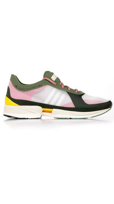 """<a href=""""https://www.alducadaosta.com/eng/product/9000413029"""" target=""""_blank"""">Diorite Adizero Sneakers, $195, Adidas By Stella McCartney at alducadaosta.com</a>"""