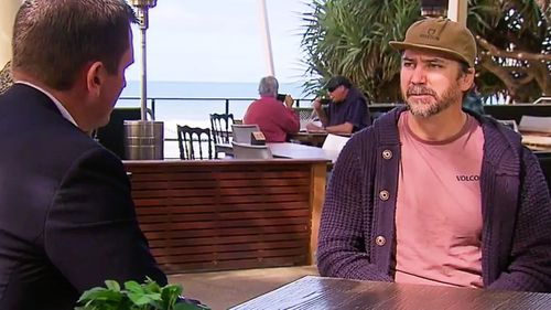 Caloundra coffee shop owner Pierre Mortenson told 9News he lost staff members to quarantine and lost thousands across the two-day closure period.
