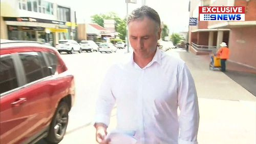 Anthony McGualey claimed he mistook the toddler for his granddaughter. (9NEWS)