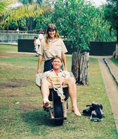 Robert Irwin, Steve Irwin, Terri Irwin